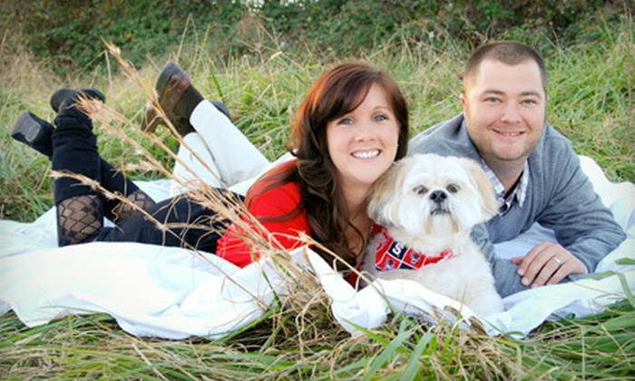 Stephanie Spencer Photography - Cambridge Forest: $80 for a One-Hour Engagement Photo Shoot with 10 Digital Images from Stephanie Spencer Photography ($225 Value)