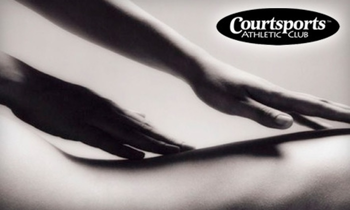 Courtsports Athletic Club - Springfield: $20 for Six Group Fitness Classes (Up to $90 Value) or $35 for One-Hour Massage (Up to $70 Value) at Courtsports Athletic Club
