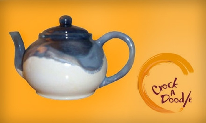 Crock A Doodle - Lord Roberts: $12 for $24 Worth of Pottery Painting at Crock A Doodle