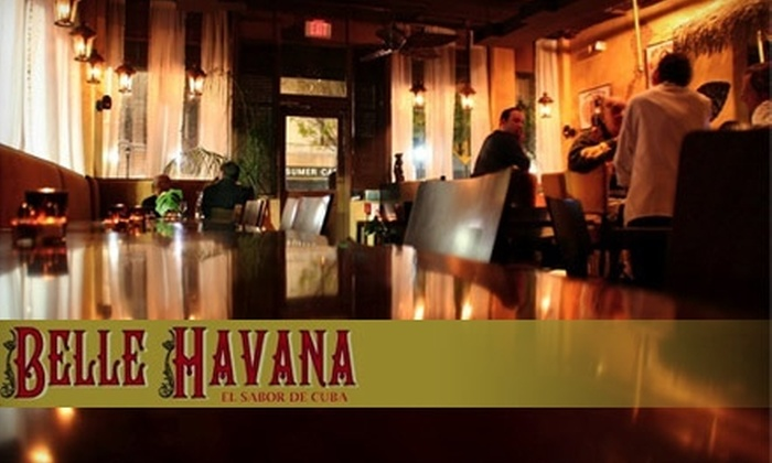 Belle Havana - Downtown Yonkers: $20 for $50 Worth of Cuban-French Fusion and Mojitos at Belle Havana in Yonkers