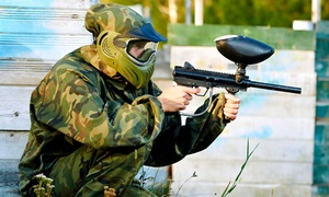 $23 for All-Day Paintball with Equipment, Air, and 200 Paintballs at Black River Paintball ($44.95 Value)