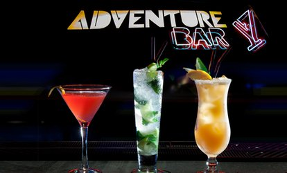 image for Three or Six Cocktails at Adventure Bar, Three Locations (Up to 63% Off)