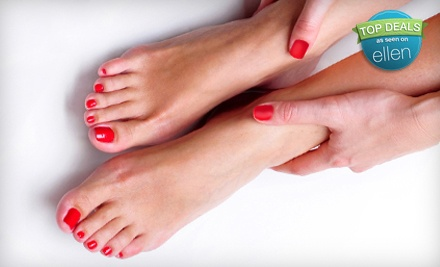 3 Shellac Manicures or Pedicures (a $90 value) - Head to Toes Salon in Conway