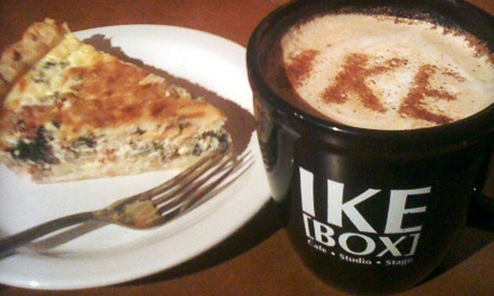 IKE Box Café - Central Area: $5 for $10 Worth of Locally Produced Coffee and Eats at IKE Box Café