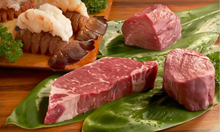 Chuck's Restaurants - Multiple Locations: $30 for $60 Worth of Steak and Seafood at Chuck's Restaurants. Choose from Three Locations.