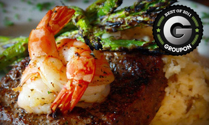 Cat City Grill - Fort Worth: Seafood and Steak House Dinner on Monday–Thursday or Friday–Saturday at Cat City Grill (Up to 60% Off)