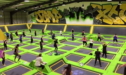 OneHour Trampoline Jump Session for One, Two or Four at Jump Xtreme, Bolton