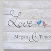 Up to 50% Off Personalized Love Themed Canvases