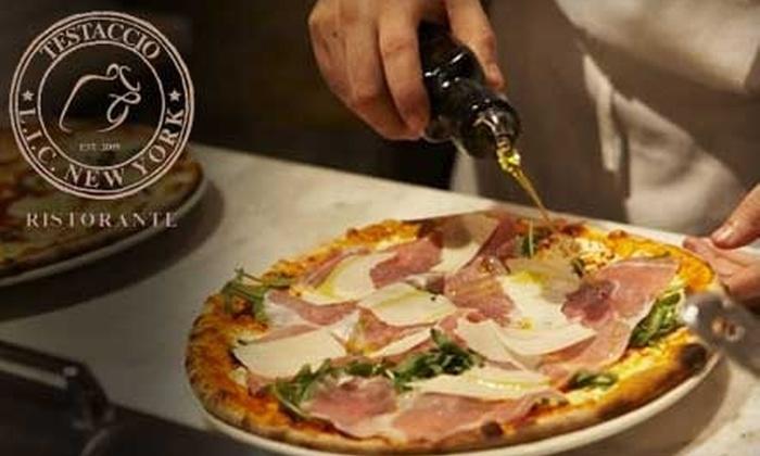 Testaccio Ristorante - Hunters Point: $25 for $50 Worth of Authentic Italian Cuisine and Drinks at Testaccio Ristorante