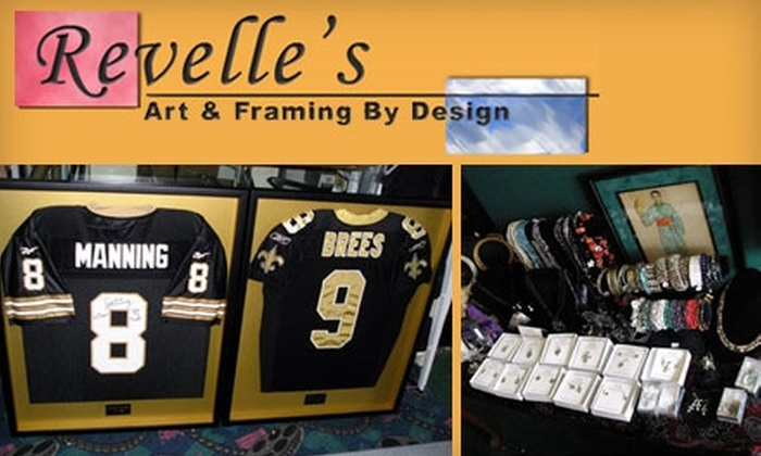 Revelle's Art & Framing by Design - 2: $25 for $50 Worth of Custom Framing and Merchandise at Revelle's Art & Framing by Design in Metairie