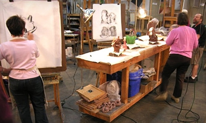 Braitman Studio - East Forest: $99 for a Four-Week Art Class at Braitman Studio (Up to $210 Value)