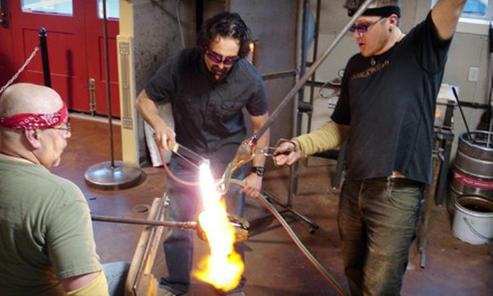 Boise Art Glass - Downtown: $85 60-Minute Glass-Blowing Class and Handmade Holiday Ornament at Boise Art Glass ($170 Value)