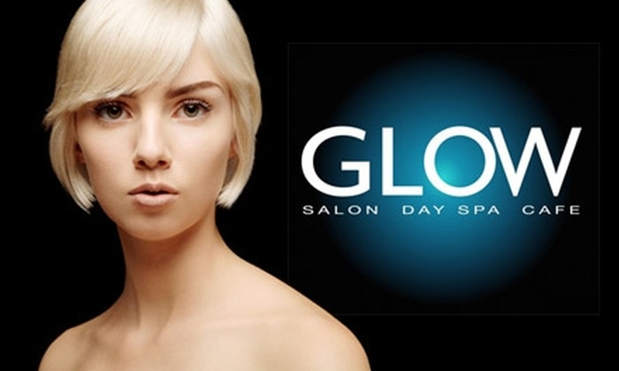 Glow Salon, Day Spa & Cafe - Baltimore: $35 for a Deep Hair Conditioning, Blow Dry, and $75 Worth of Any Service at Glow Salon, Day Spa & Cafe ($110 Value)