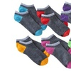 Hanes Premium Women's Color Collection Striped Liner Socks (12-Pack)