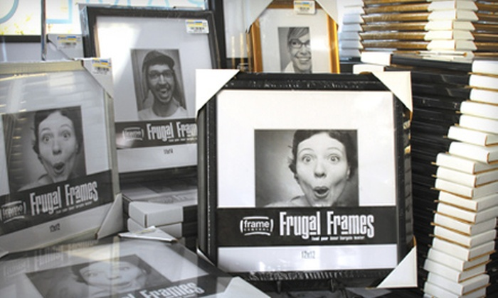Frame Central - Multiple Locations: $25 for $55 Worth of Frames, Mirrors, and Art at Frame Central