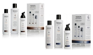 Nioxin Shampoo, Conditioner, and Treatment Set (3-Piece)