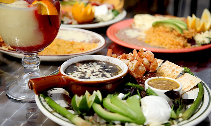 30 Off Mexican Food At Senor Tequilas Restaurant