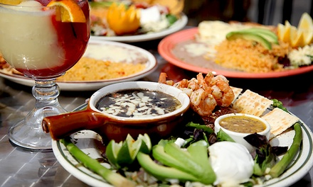 $11 for Two Groupons, Each Good for Mexican Food at Senor Tequilas Mexican Restaurant ($20 Value)