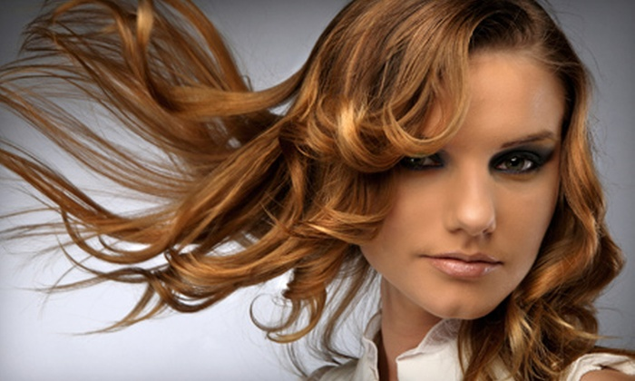 Artistic Image Salon & Spa - Manor,Riverside Terrace: Family Hair Services at Artistic Image Salon & Spa in Fair Lawn (Up to 60% Off). Three Options Available.