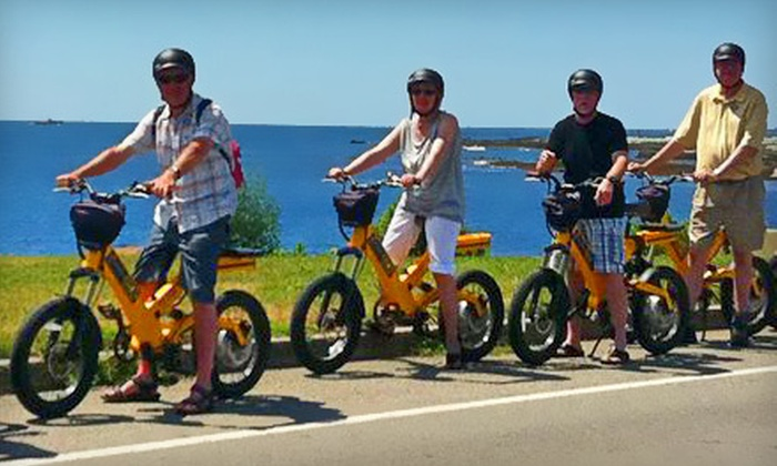 Segway of Newport - Newport: Two-Hour Electric-Bicycle Beach and Wildlife Refuge Tour or Ocean Drive Tour from Segway of Newport (51% Off)