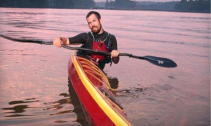 Potomac Paddlesports - Multiple Locations: Sea Kayak Starter Package and Kayaking Accessories from Potomac Paddlesports. Three Options Available.