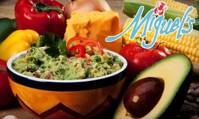 Miguel's La Posado - Oracle Foothills Estates: $15 for $30 Worth of New Latin American Cuisine at Miguel's at La Posada