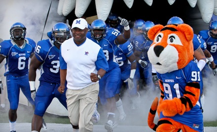 Memphis Tigers vs. Austin Peay Governors at Liberty Bowl Memorial Stadium on Sat., Sept. 17 at 6:00PM: Funzone Seating (Sections 112118 and 128101) - Memphis Tigers in Memphis