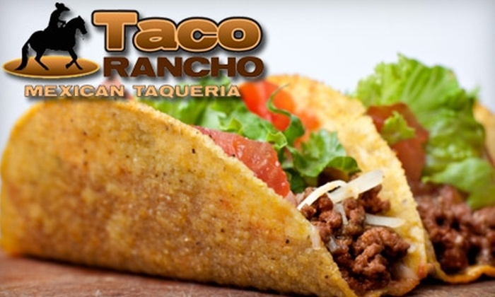 Taco Rancho - Forest Park: $7 for $15 Worth of Mexican Fare and Drinks at Taco Rancho