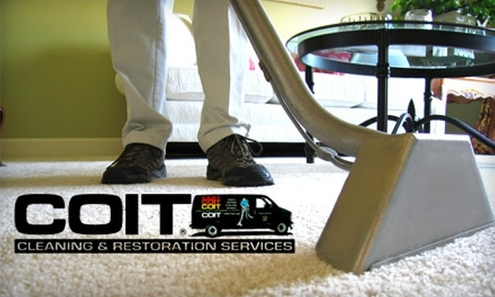 COIT Services - Woodlawn: $54 for a Two-Room Carpet Cleaning from COIT Services