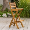 Atlantic Foldable Outdoor Wooden Barstool