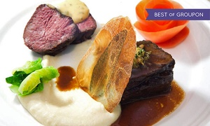 Xaviars at Piermont: 5-Course Meal with Amuse Bouche and Petit Fours for Two or Four at Xaviars at Piermont (Up to 41% Off)