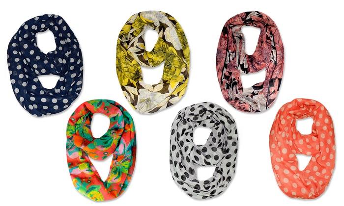 Peach Couture Infinity Loop Scarves (2-Pack)