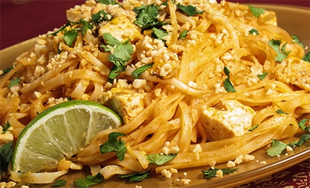 Malaysian and Thai Dinner for Two or Four at Penang Malaysian & Thai Cuisine (Up to 48% Off)