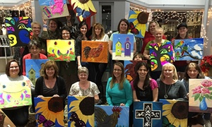 WildArt LLC: Up to 54% Off Paint Night Party at WildArt LLC