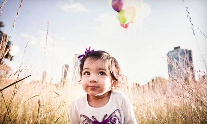 The Way We Click Photography - Chicago: $79 for a Portrait Shoot for Up to Six with Holiday Cards or Prints from The Way We Click Photography (Up to $575 Value)