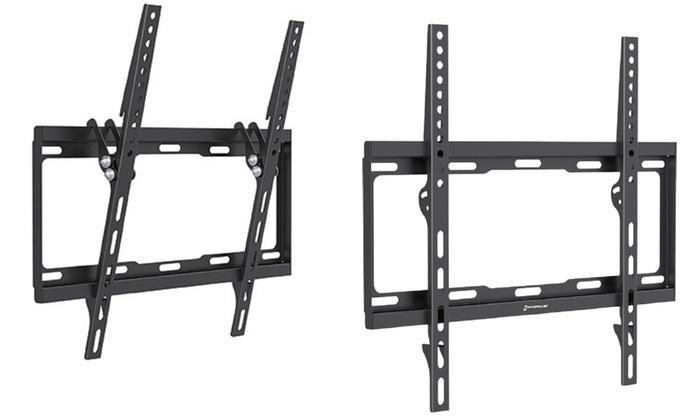 gforce slim tv wall mount groupon goods. Black Bedroom Furniture Sets. Home Design Ideas