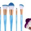 Mermaid-Style Makeup or Eye Makeup Brush Set (6-Piece)