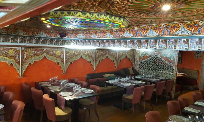 saveurs marocaines pour 2 ou 4 le monseigneur groupon. Black Bedroom Furniture Sets. Home Design Ideas