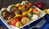Pars Cove - North Side: Four-Course Persian Dinner for Two or Four with Drinks and Ice Cream at Pars Cove (Up to 48% Off)