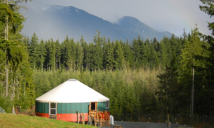 Paca Pride Guest Ranch: Yurt Glamping in Washington | Groupon Getaways