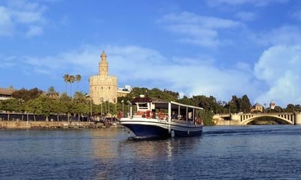 Paseo en barco por el Guadalquivir para 2 o 4 personas desde 14,95 € con Perlas del Guadalquivir