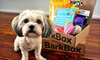 BarkBox **NAT**: Three- or Six-Month Subscription for Monthly Delivery of Dog Goodies from BarkBox (Up to 31% Off)