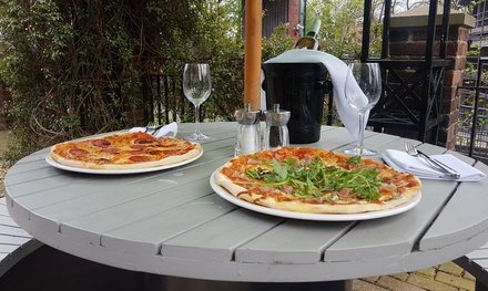 Pizza or Pasta for Two with Optional Glass or Bottle of Prosecco for Novotel York Centre