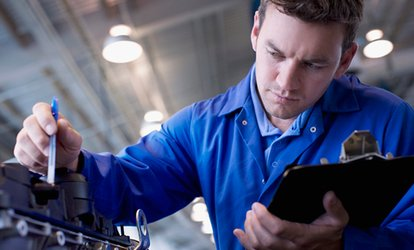MOT Test Plus Fluid Check at Cardiff Trade Centre (56% Off)