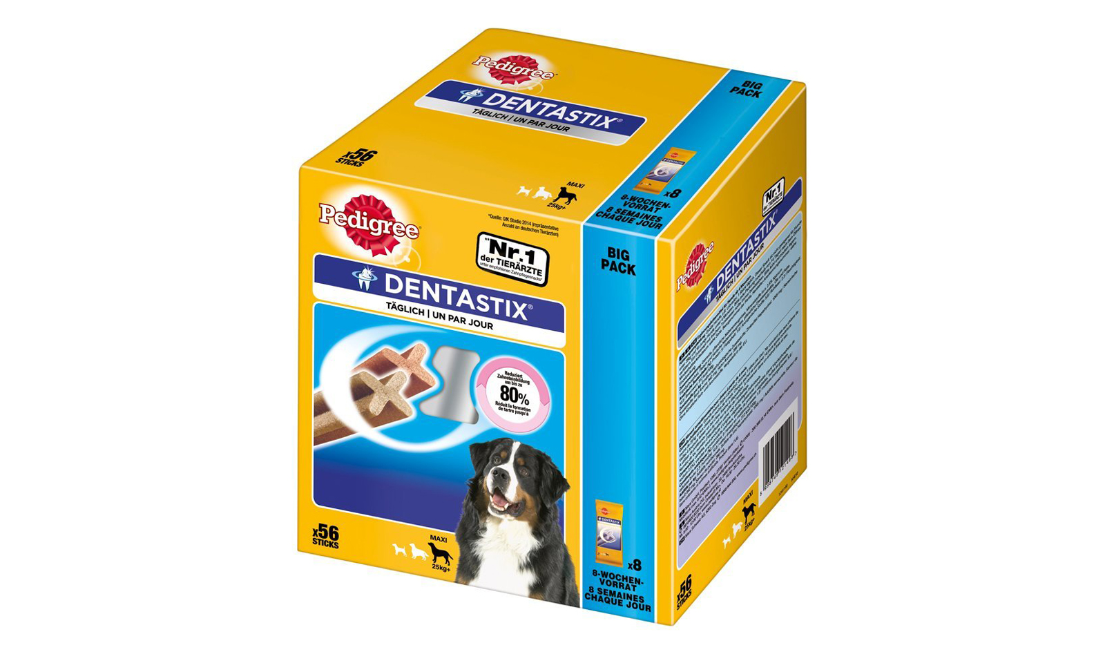 From £12.98  For 56-Piece Pedigree Dentastix Pack for Small, Medium or Large Dogs