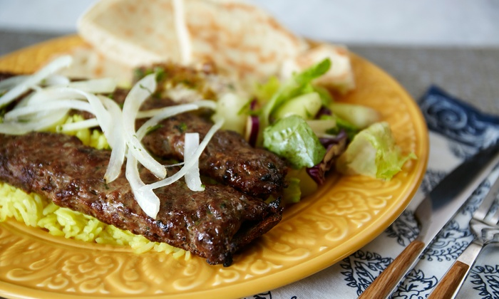 Igrill - Hacienda La Puente: $18 for Three Groupons, Each Good for $10 Worth of Mediterranean Food at Igrill ($30 Total Value)