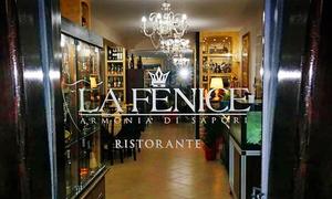 La Fenice Ristorante (Montalto Uffugo): Menu Gourmet di pesce fresco con calice di vino per 2 o 4 persone al ristorante La Fenice (sconto fino a 59%)