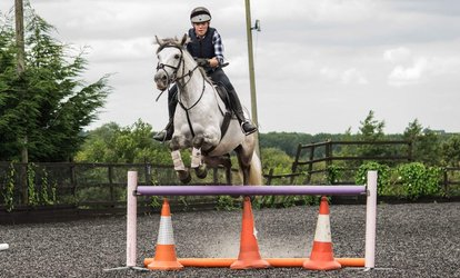 image for Up to Two One-Hour Group Horse Riding Lessons for One or Two at Hundleby Riding Centre (Up to 60% Off)