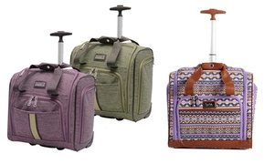Nicole Miller Underseat Carry-on Luggage