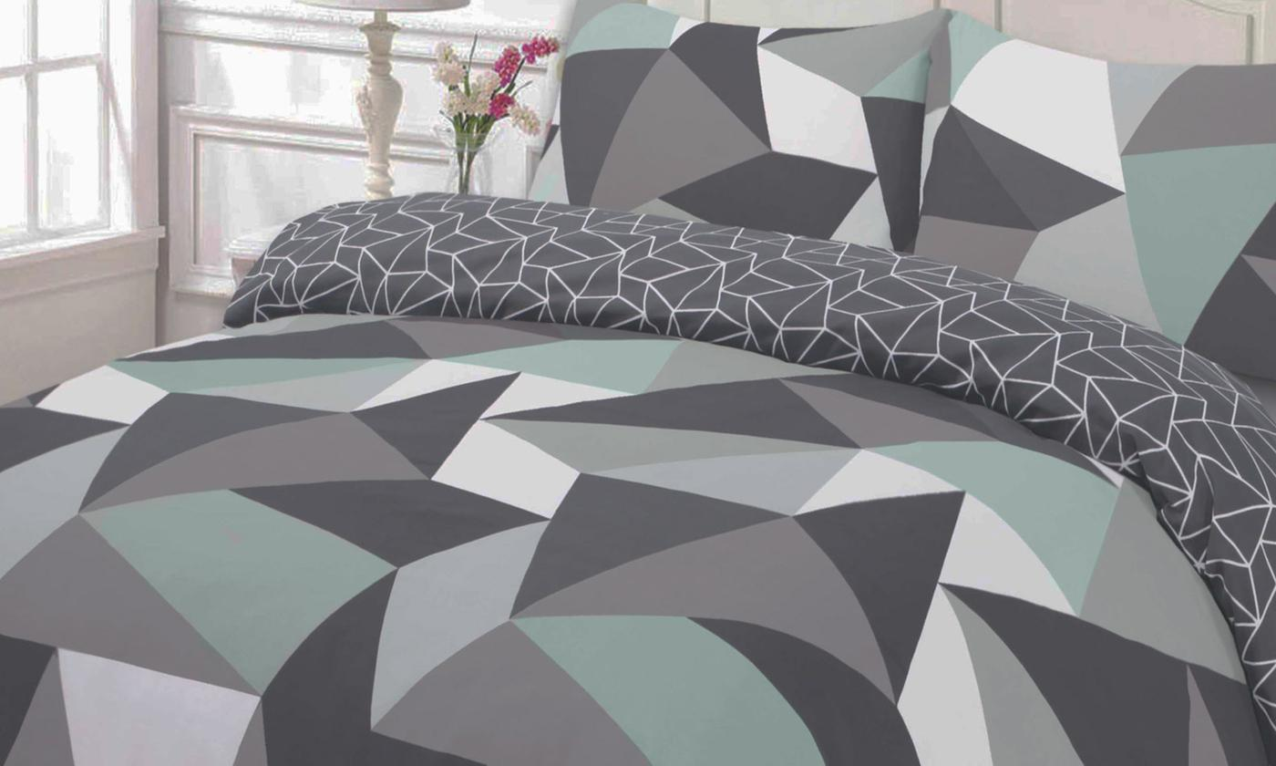 Geo Reversible Duvet Set